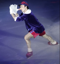 Pinocchio on Ice